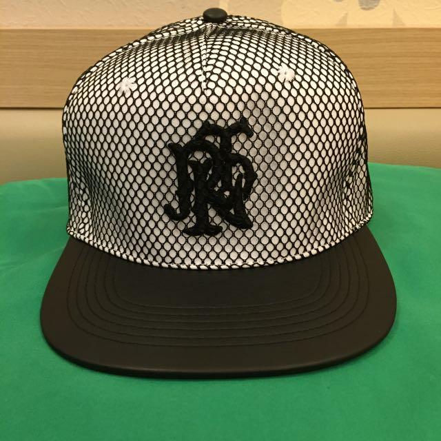 全新正品2折售 皮革網狀棒球帽 RPTN