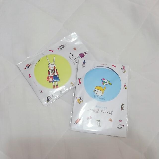 (贈送)韓國胸章
