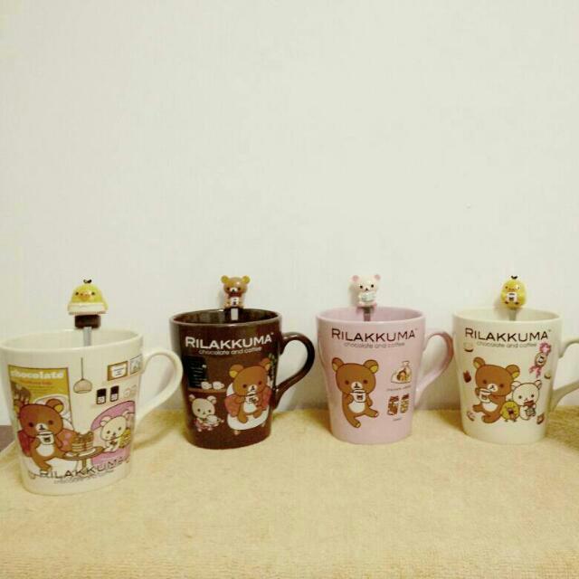 拉拉熊甜蜜巧克力咖啡馬克杯