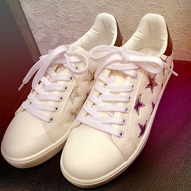 特價正韓星星休閒鞋