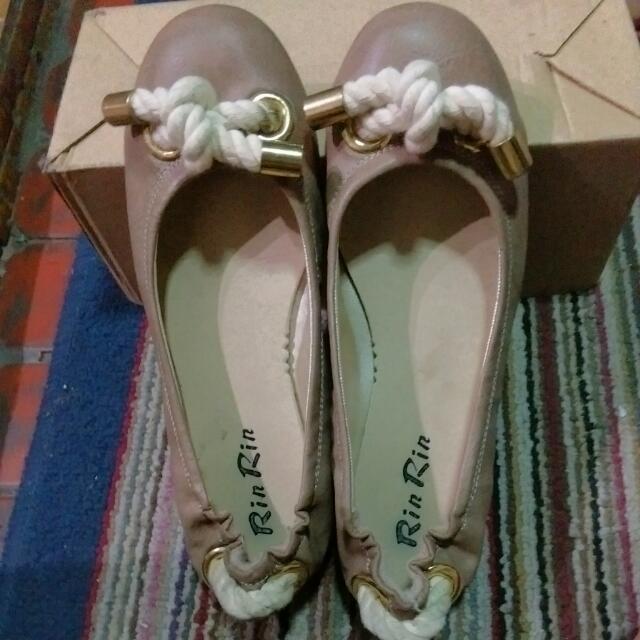 麻繩設計款 包鞋 37/ 23.5