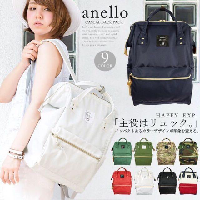 日本正版 Anello 後背包~ 2/20號截單