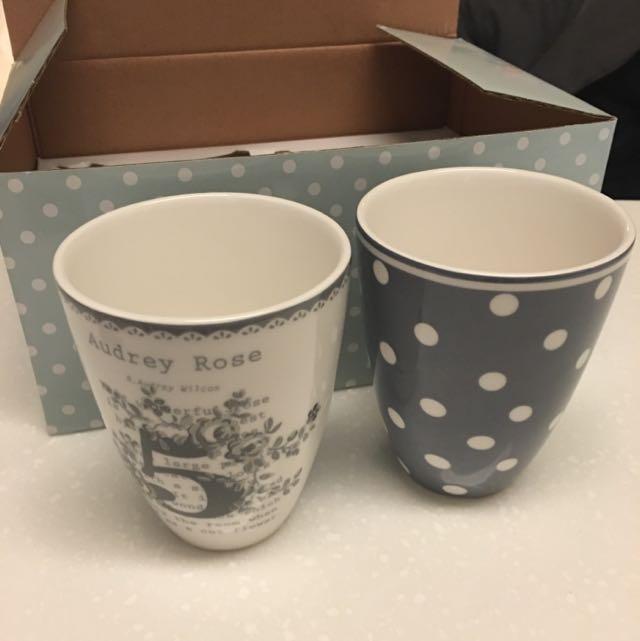 里禾生活 Lille Hus 對杯 咖啡杯 花茶杯