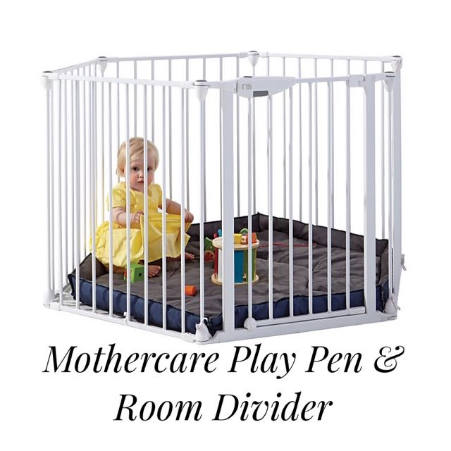 Almost New Playpen Room Divider From Mothercare UK Babies Kids