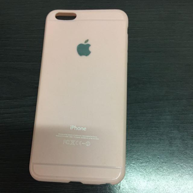 [二手]I phone 6  plus 粉色軟殼