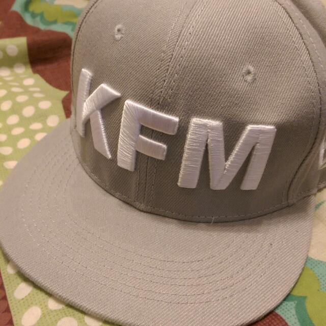 KFM 潮帽 百搭灰 男女皆可戴,只戴一次