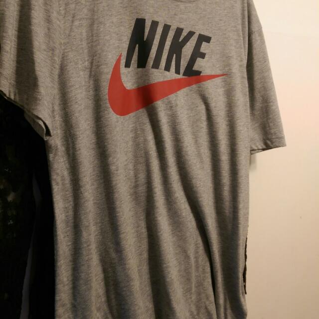 Nike Logo T Fit 灰色百搭方法2XL