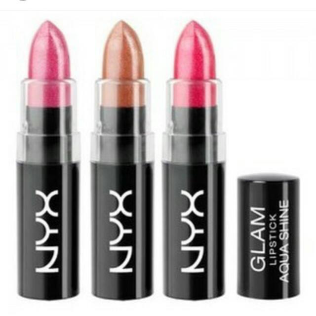 NYX Glams Lip Aqua Luxe