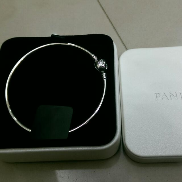 (降~)Pandora 銀飾硬鐲 21號 情人節禮物~含運喔!