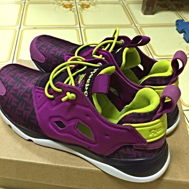 Reebok 24.5cm 紫色 全新