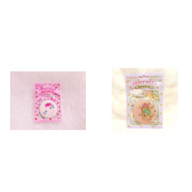 Sanrio Point Pads局部面膜 Hello Kitty/Little Twin Stars