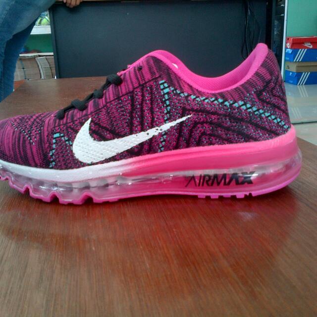 Sepatu Nike Airmax Full Tabung For Ladies Warna Pink Kombinasi ... c89146399c