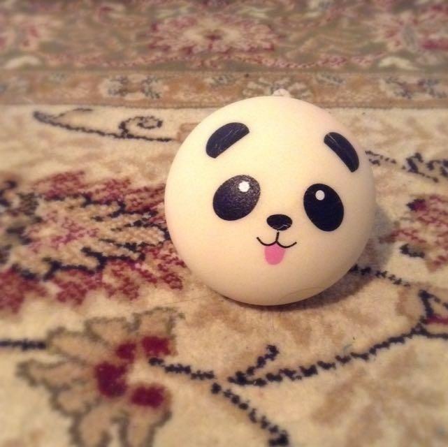 Squishy Medium Panda Bun