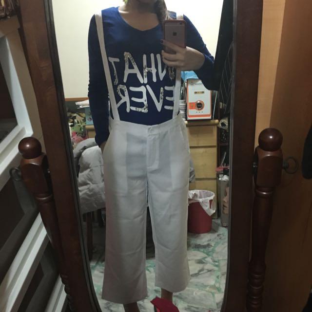 《全新》韓國寶藍長版T