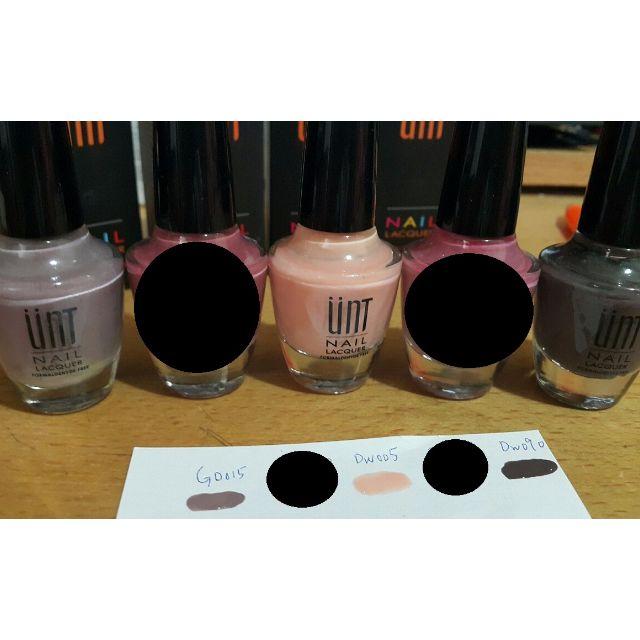 過期UNT指甲油出清 含盒 GD015、DW004、DW090