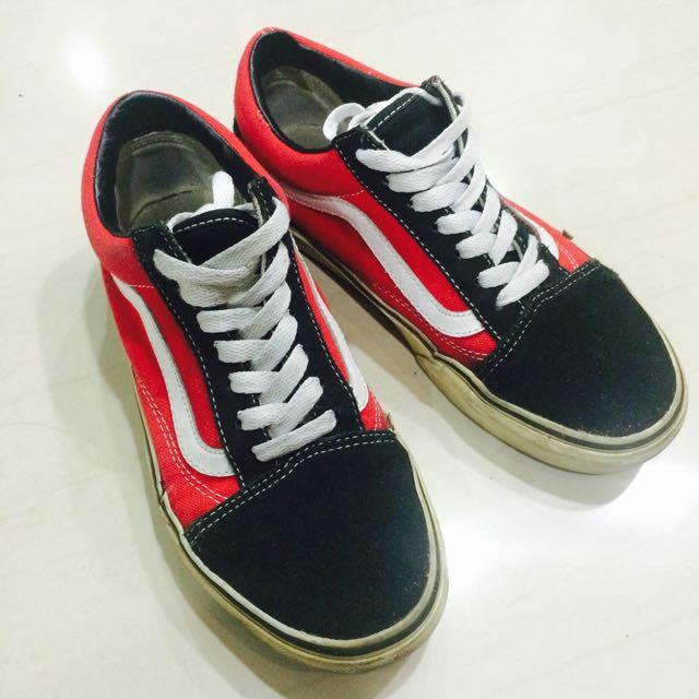 Vans紅板鞋