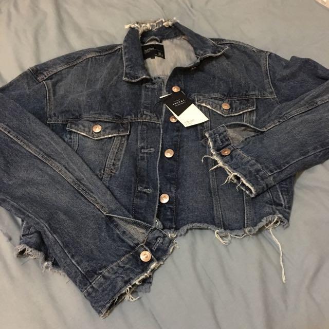 Zara Jeans Jacket ( Brand new)