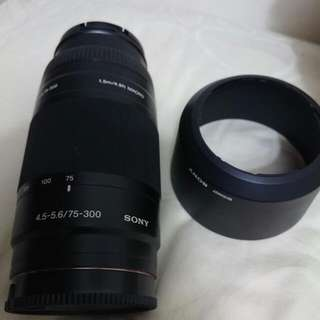 Sony Alpha 75-300mm 4.5-5.6 Lens