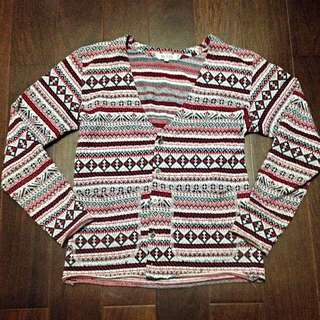 (特價)復古 民族風 針織衫