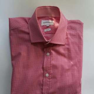 Brookfield Red Checked Shirt