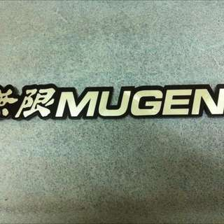 New Honda TypeR MUGEN Spoon Emblem Sticker