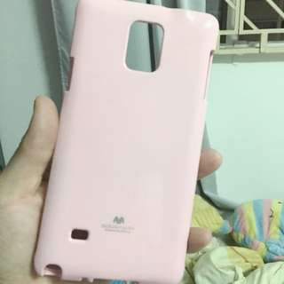 Samsung Note 4 Pink Goospery Back Cover (reserved)
