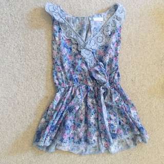Japanese Brand Floral Dress
