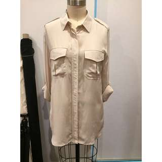 Country Road Long Silk Shirt