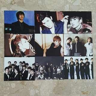Super Junior Photo Cards