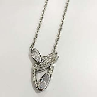 Austria Crystal Pendant With Chain