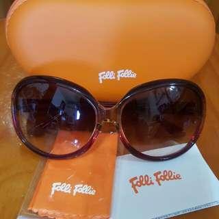 全新 Folli Follie 紅色漸層圓框太陽眼鏡/墨鏡 低價出清 只要$1800(含運)