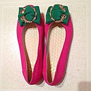 骷顱頭粉紅鞋