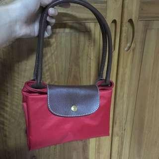 [大容量、可折疊]紅色包包