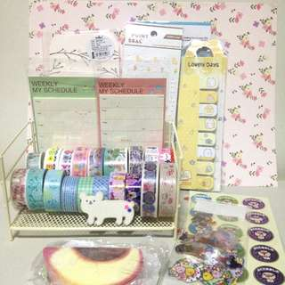 Kawaii Stationery Destash Lot