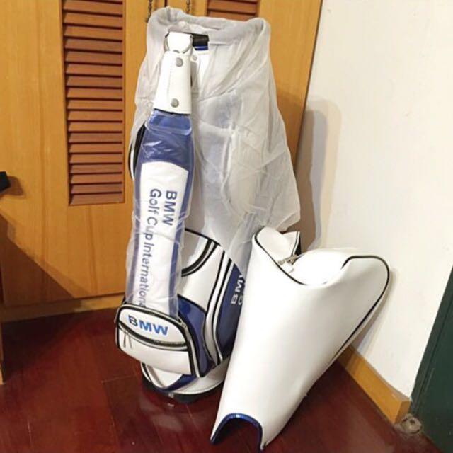 2015 BMW 高爾夫球球袋 (全新現貨)