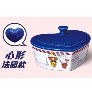 7-11 kitty 聯名造型烤盤