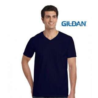 GILDAN 64V00 短袖V領素T
