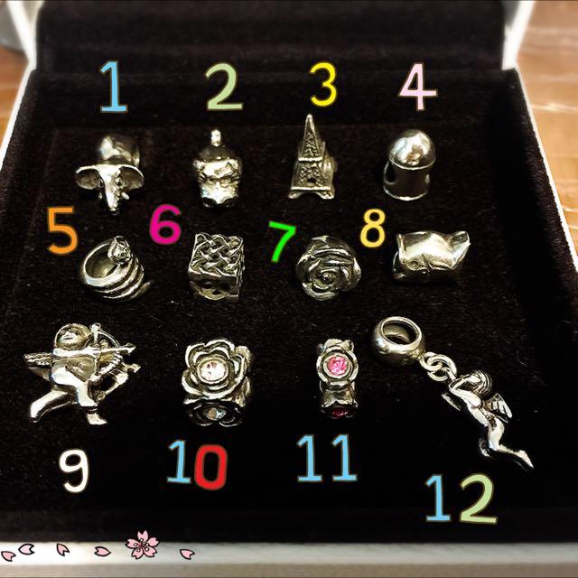 925純銀Charms (非Pandora)