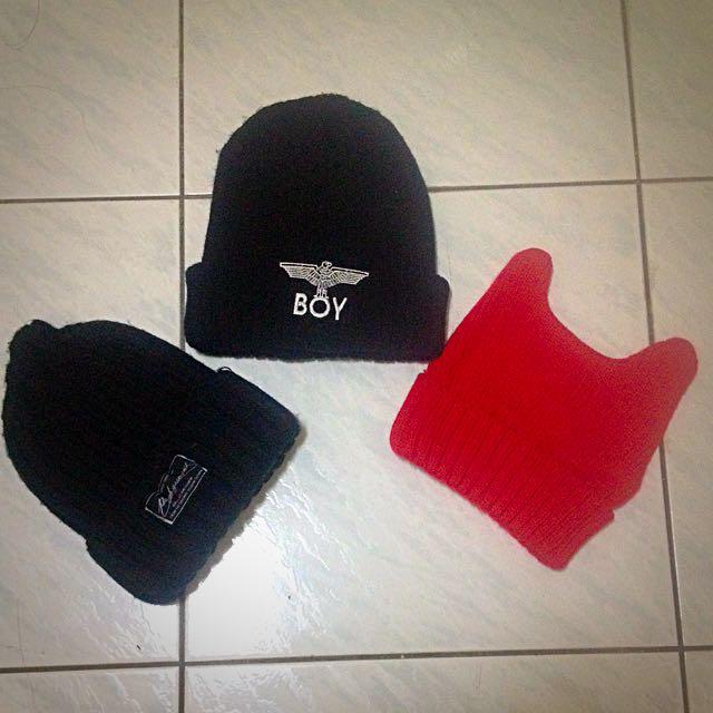 毛帽及水壺袋