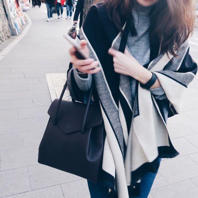 🔺大容量造型耐看皮革包🔻