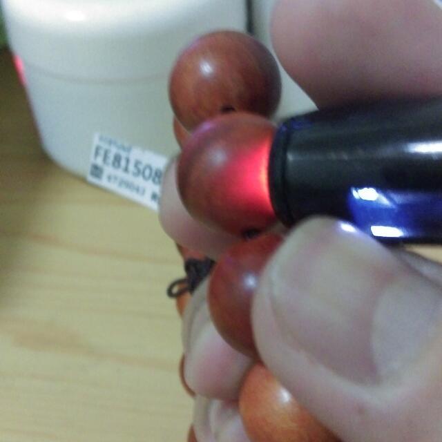 血龍木透光佛珠15mm