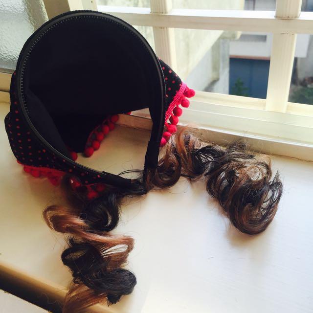 義賣-幫助流浪動物- 小女孩兒捲捲頭髮圈