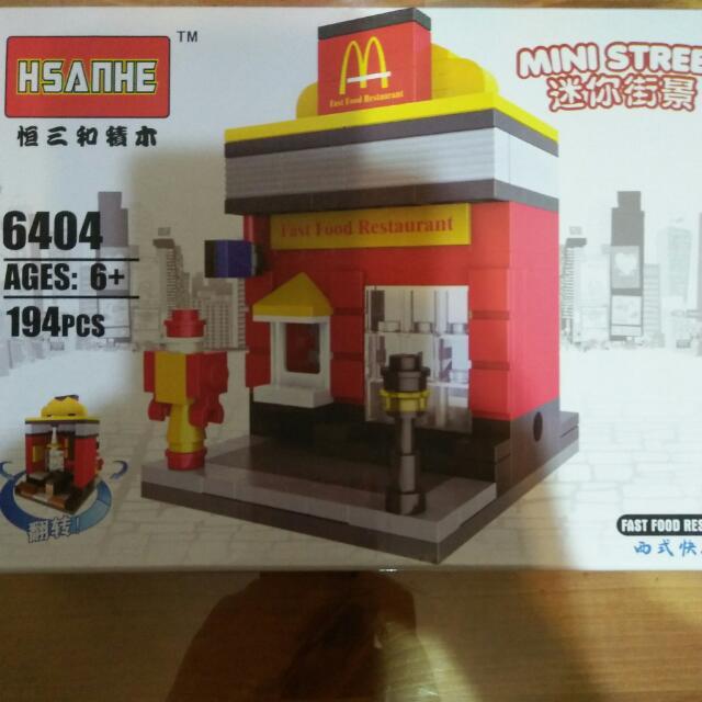 迷你街景 麥當勞