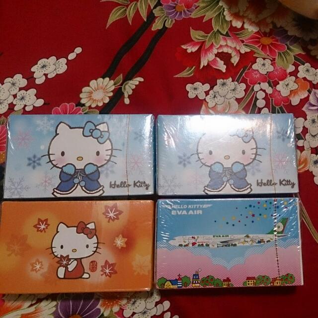 長榮 Hello Kitty撲克牌