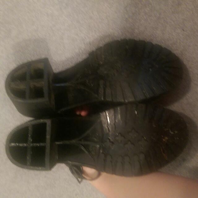 Heeled Jelly shoes