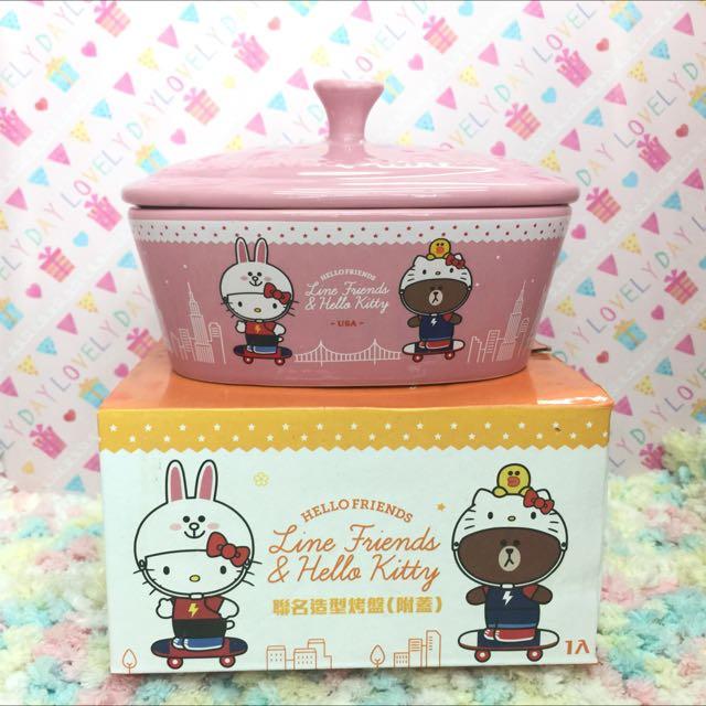 Hello Kitty X Line 陶瓷大烤皿