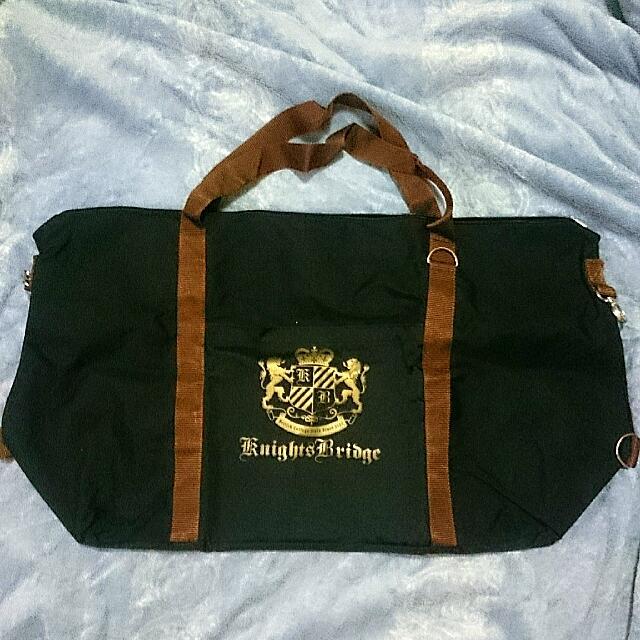 Knights Bridge 專櫃品牌 超大容量旅行袋(保留中)