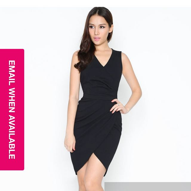 10e2968b31 Lara J Berkeley Tulip Dress Black XS
