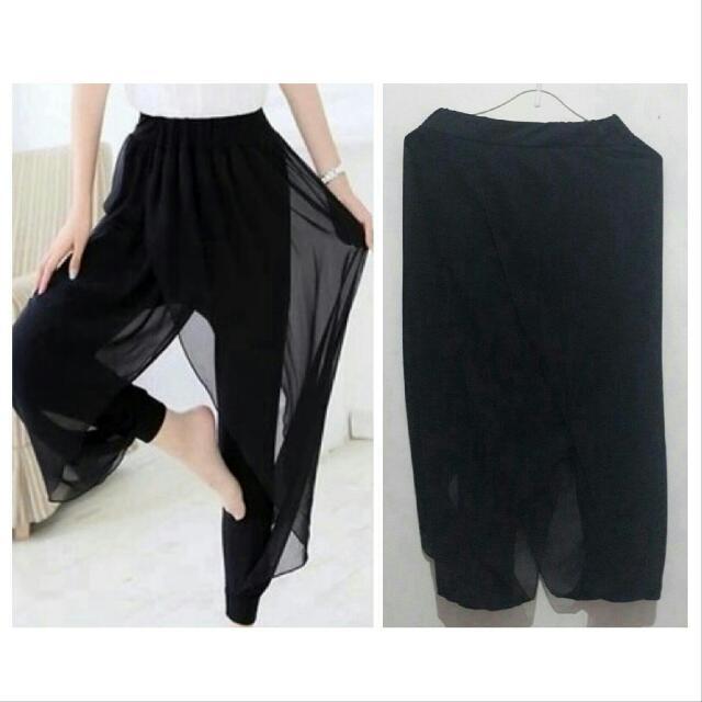 Layered Harem Pants