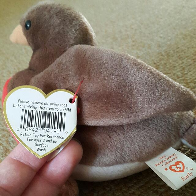e48f355b214 Retired TY Beanie Baby - Early the Robin